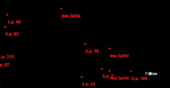 Nová Hospoda 75, Plzeň na parcele st. 1773 v KÚ Skvrňany, Katastrální mapa