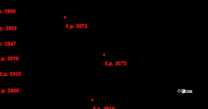 Líšeň 3073, Brno na parcele st. 3278/546 v KÚ Líšeň, Katastrální mapa