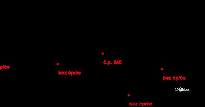 České Budějovice 4 540, České Budějovice na parcele st. 10/13 v KÚ České Budějovice 4, Katastrální mapa