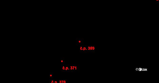 Černovír 359, Olomouc na parcele st. 666 v KÚ Černovír, Katastrální mapa