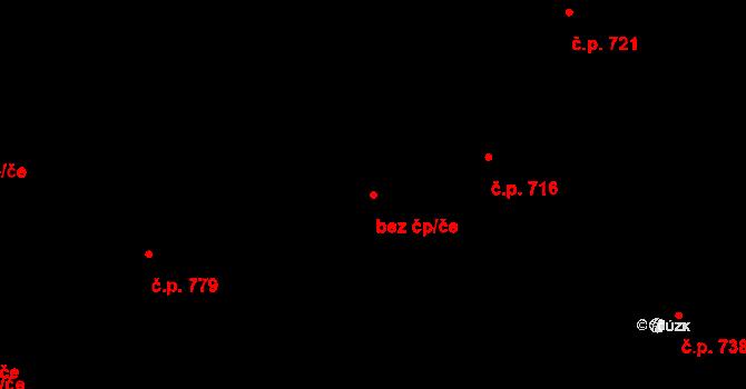 Tvrdonice 96042419 na parcele st. 1188 v KÚ Tvrdonice, Katastrální mapa
