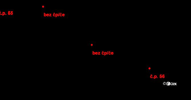 Horní Pěna 118 na parcele st. 157 v KÚ Horní Pěna, Katastrální mapa
