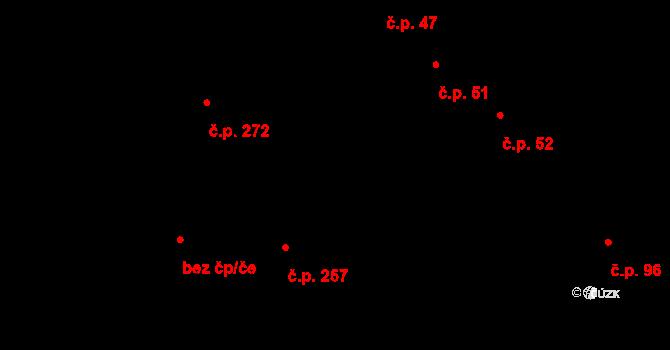 Malšova Lhota 257, Hradec Králové na parcele st. 161/10 v KÚ Malšova Lhota, Katastrální mapa