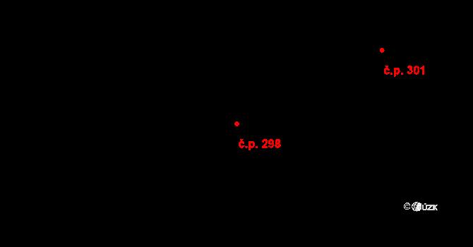 Staré Hory 298, Jihlava na parcele st. 488 v KÚ Staré Hory, Katastrální mapa