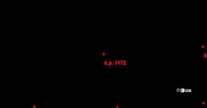 Nové Město 1172, Praha na parcele st. 274 v KÚ Nové Město, Katastrální mapa