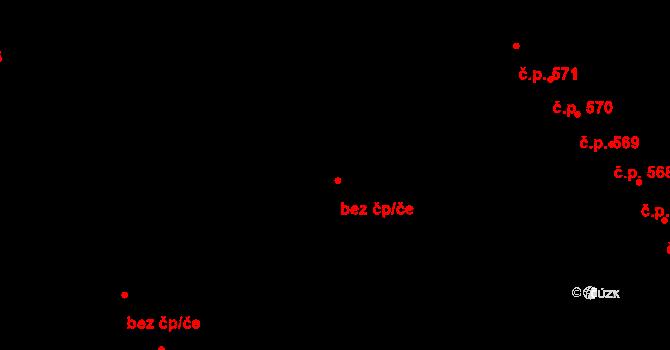 Pardubice 46762434 na parcele st. 826 v KÚ Studánka, Katastrální mapa