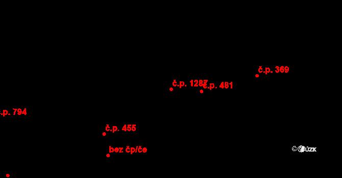 Skvrňany 1287, Plzeň, Katastrální mapa