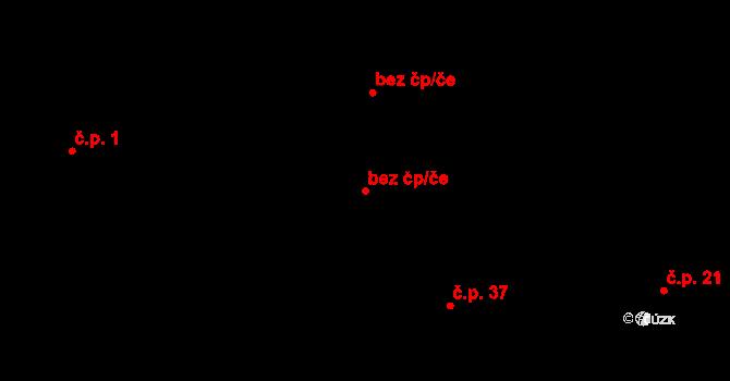 Fulnek 50484443 na parcele st. 59 v KÚ Jílovec, Katastrální mapa