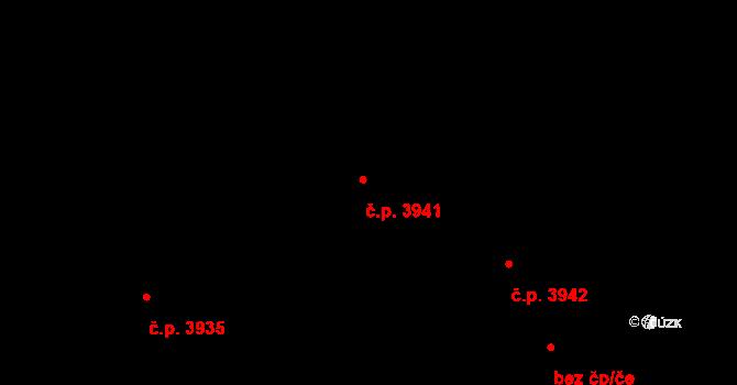 Havlíčkův Brod 3941 na parcele st. 7604 v KÚ Havlíčkův Brod, Katastrální mapa