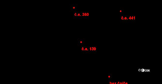 Nový Hradec Králové 139, Hradec Králové na parcele st. 1026 v KÚ Nový Hradec Králové, Katastrální mapa
