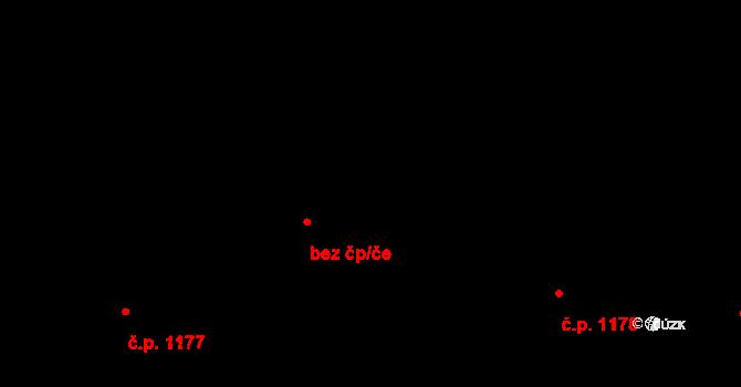 Hradec Králové 1178 na parcele st. 1402/1 v KÚ Hradec Králové, Katastrální mapa