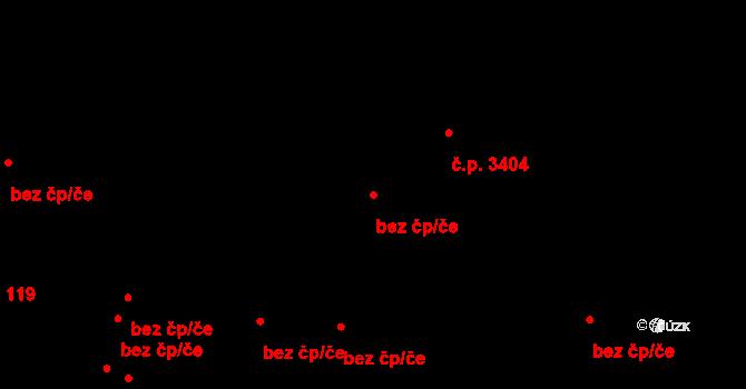 Kladno 44376456 na parcele st. 1056/2 v KÚ Kladno, Katastrální mapa