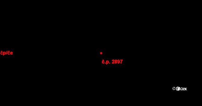 Líšeň 2897, Brno na parcele st. 3278/411 v KÚ Líšeň, Katastrální mapa