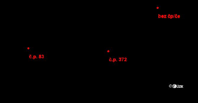 Zbraslavice 372 na parcele st. 739 v KÚ Zbraslavice, Katastrální mapa