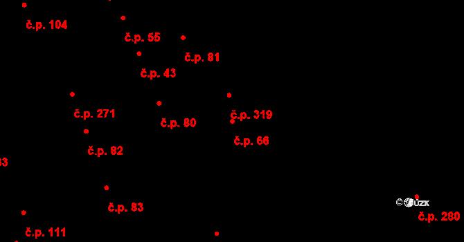 Kolín III 66, Kolín na parcele st. 763 v KÚ Kolín, Katastrální mapa