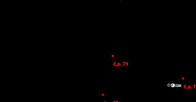 Brno-město 71, Brno na parcele st. 129 v KÚ Město Brno, Katastrální mapa