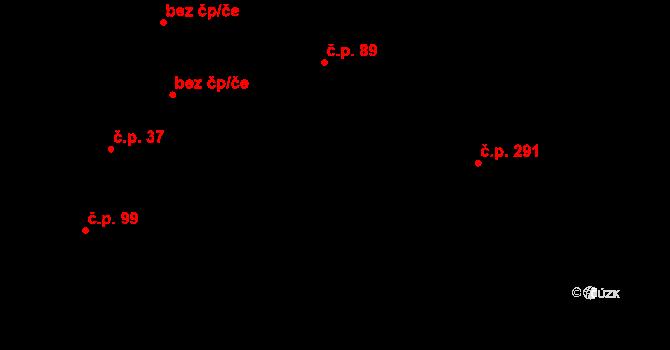 Davle 89 na parcele st. 862/2 v KÚ Davle, Katastrální mapa