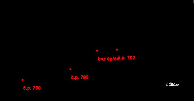Zlín 42465486 na parcele st. 1114 v KÚ Prštné, Katastrální mapa