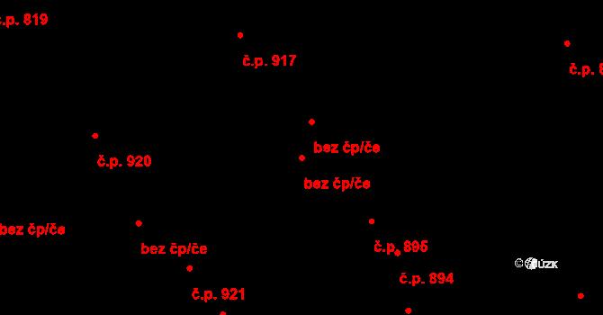 Kladno 44364491 na parcele st. 5071 v KÚ Kročehlavy, Katastrální mapa