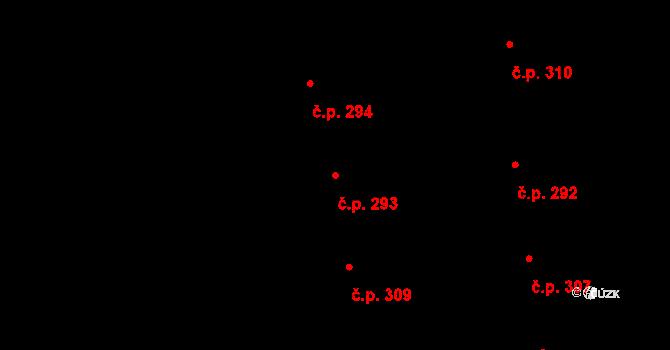 Valcha 293, Plzeň na parcele st. 3149 v KÚ Valcha, Katastrální mapa