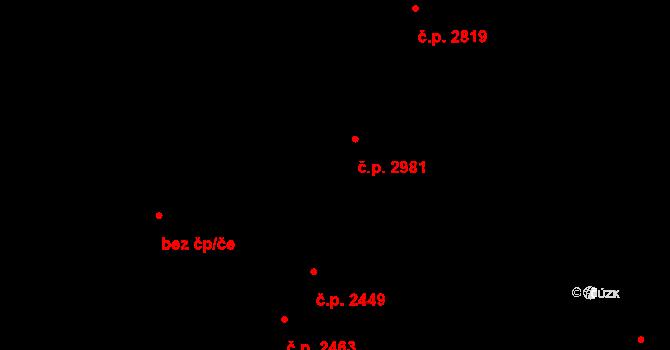 Líšeň 2387, Brno na parcele st. 5252/2 v KÚ Líšeň, Katastrální mapa
