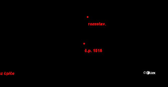 Rumburk 1 1516, Rumburk na parcele st. 1769/26 v KÚ Rumburk, Katastrální mapa