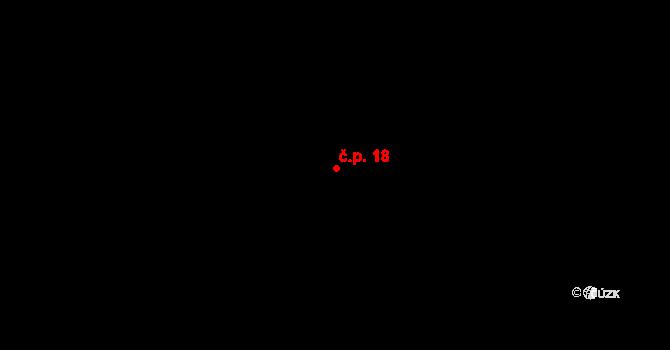 Bozdíš 18, Meclov na parcele st. 465/10 v KÚ Bozdíš, Katastrální mapa