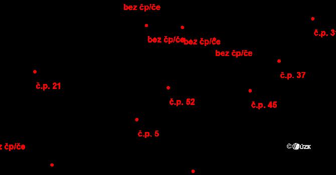 Dolní Bezděkov 52, Bratronice na parcele st. 35/1 v KÚ Dolní Bezděkov u Kladna, Katastrální mapa