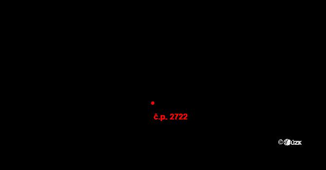Stodůlky 2722, Praha na parcele st. 2131/180 v KÚ Stodůlky, Katastrální mapa