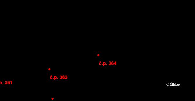 Valcha 364, Plzeň, Katastrální mapa