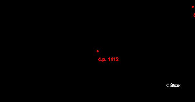 Hlubočepy 1112, Praha na parcele st. 1798/9 v KÚ Hlubočepy, Katastrální mapa