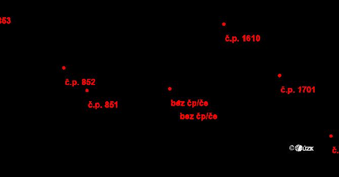 Kladno 48433519 na parcele st. 812 v KÚ Hnidousy, Katastrální mapa