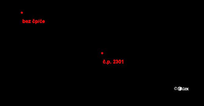 Horní Počernice 2301, Praha na parcele st. 4485/139 v KÚ Horní Počernice, Katastrální mapa
