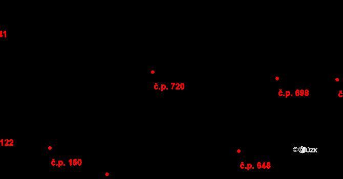 Plotiště nad Labem 720, Hradec Králové na parcele st. 1365/3 v KÚ Plotiště nad Labem, Katastrální mapa