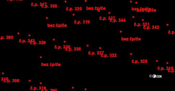 Slatina 337, Brno na parcele st. 729 v KÚ Slatina, Katastrální mapa