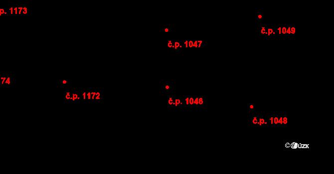 Sedlčany 1046 na parcele st. 721/4 v KÚ Sedlčany, Katastrální mapa