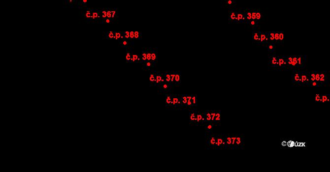 Staré Hory 371, Jihlava na parcele st. 592 v KÚ Staré Hory, Katastrální mapa