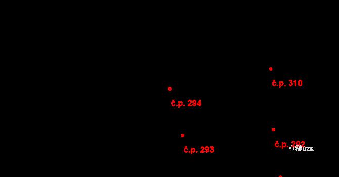 Valcha 294, Plzeň na parcele st. 3148 v KÚ Valcha, Katastrální mapa