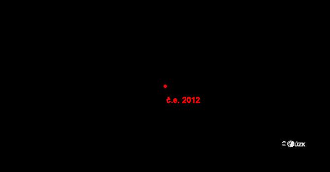 Janov nad Nisou 2012 na parcele st. 827 v KÚ Janov nad Nisou, Katastrální mapa