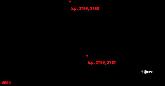 Mšeno nad Nisou 3767, Jablonec nad Nisou na parcele st. 4/10 v KÚ Mšeno nad Nisou, Katastrální mapa
