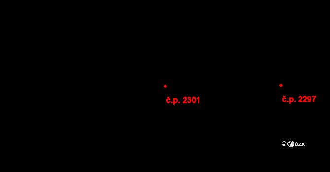 České Budějovice 7 2301, České Budějovice na parcele st. 3114/282 v KÚ České Budějovice 7, Katastrální mapa