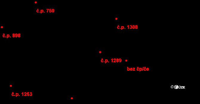 Hlučín 1289 na parcele st. 3900/16 v KÚ Hlučín, Katastrální mapa
