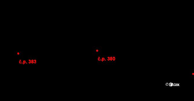 Horní Těrlicko 380, Těrlicko na parcele st. 898 v KÚ Horní Těrlicko, Katastrální mapa