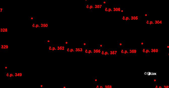 Malá Strana 356, Praha na parcele st. 31 v KÚ Malá Strana, Katastrální mapa