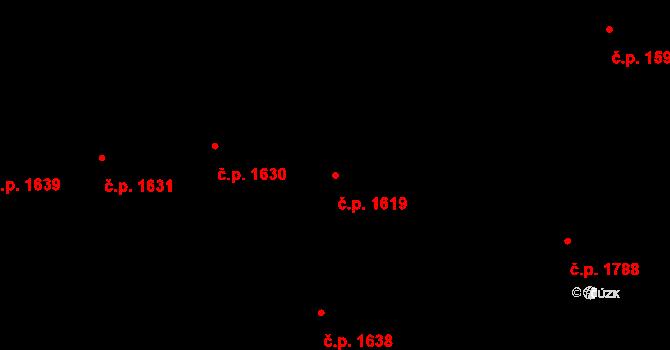 Nové Město 1619, Praha na parcele st. 2173 v KÚ Nové Město, Katastrální mapa