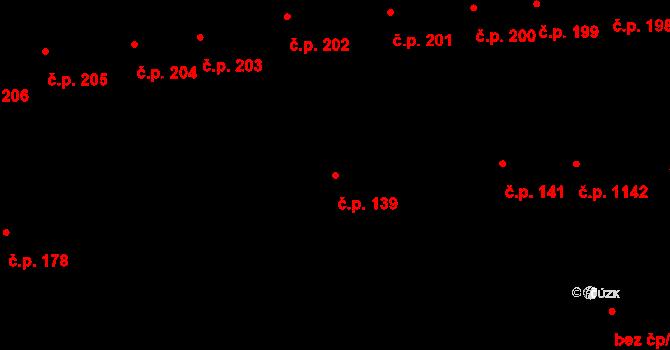 Předměstí 139, Moravská Třebová na parcele st. 836 v KÚ Moravská Třebová, Katastrální mapa
