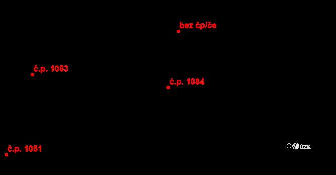 Maloměřice 1084, Brno na parcele st. 1819/9 v KÚ Maloměřice, Katastrální mapa