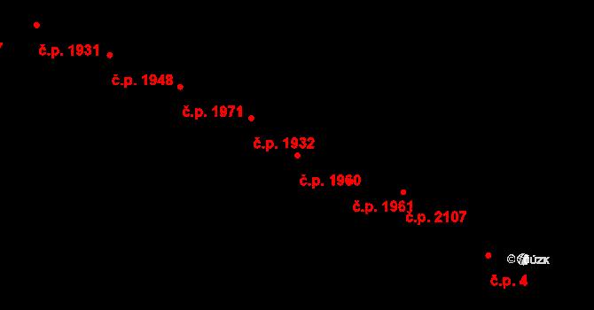 Předměstí 1960, Opava na parcele st. 372/12 v KÚ Opava-Předměstí, Katastrální mapa
