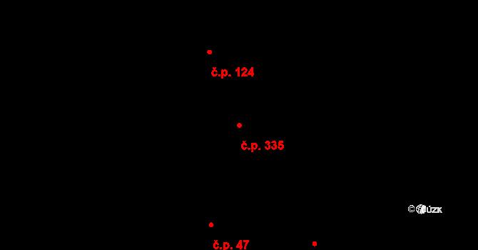 Vávrovice 335, Opava, Katastrální mapa