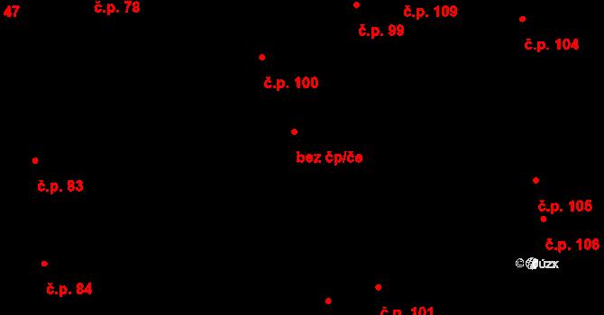 Objekt 96047577, Katastrální mapa